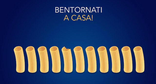Real-time marketing Barilla